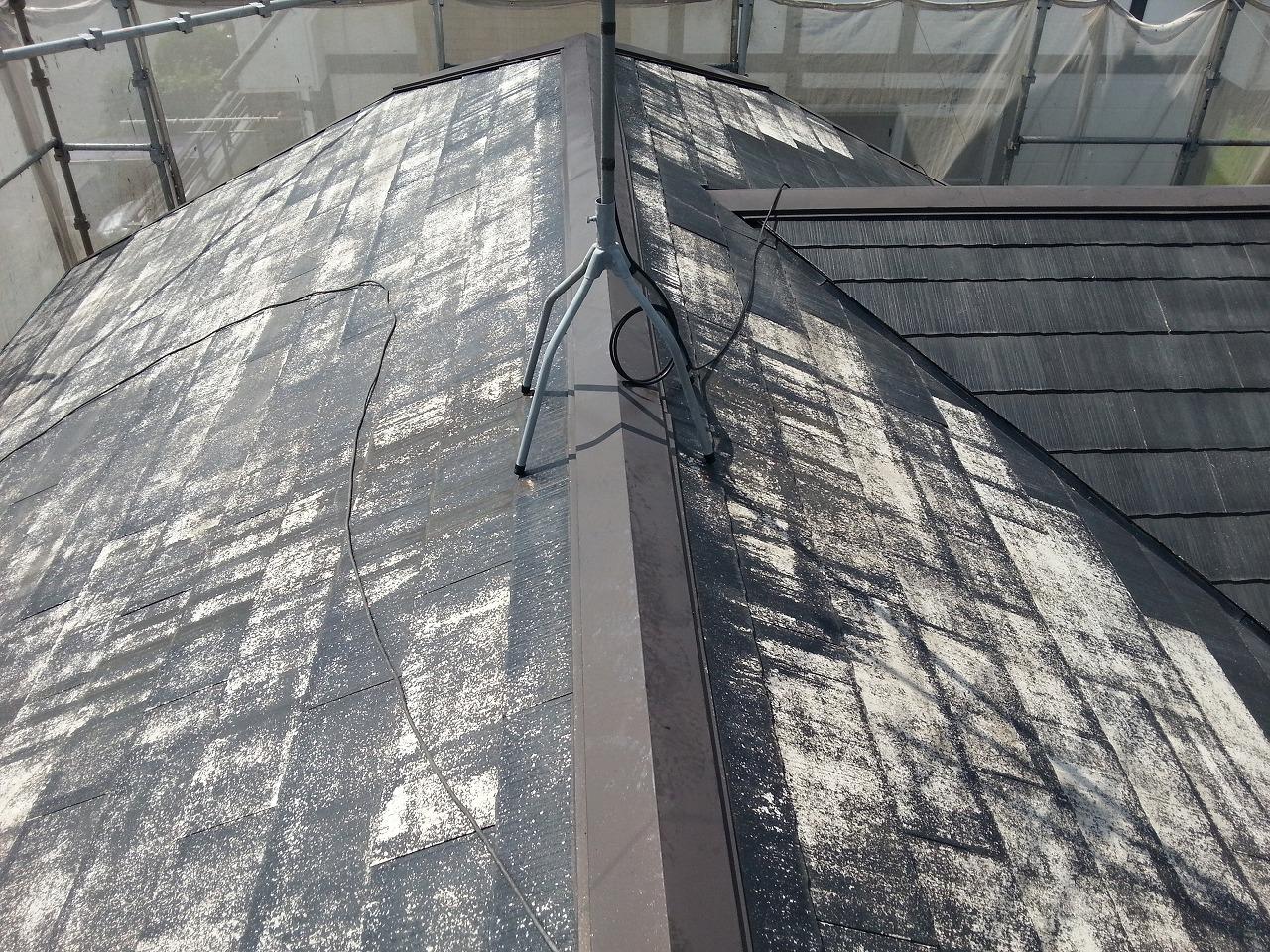 W邸様屋根塗装前写真