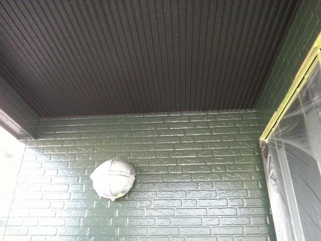 玄関塗装後写真