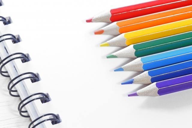 7色色鉛筆