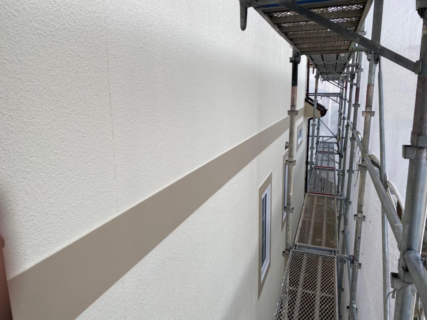 N邸外壁塗装施工後