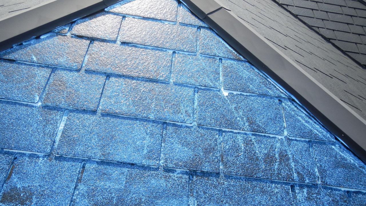 屋根の塗り⓶