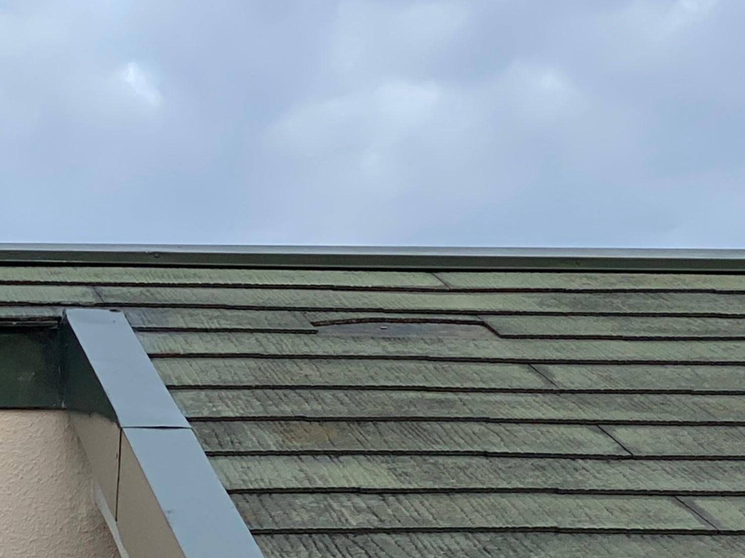 屋根剥がれ1